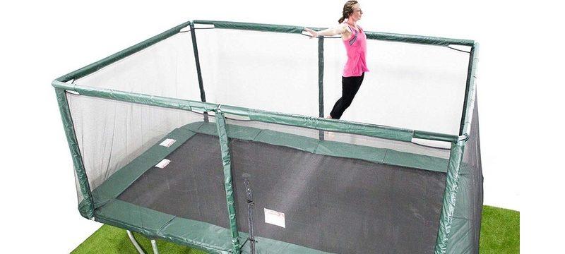 trampolines rectangulaires