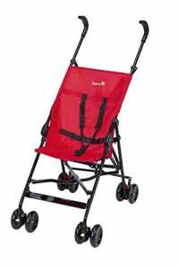 Safety 1st – Poussette Canne Fixe Peps – Collection 2017, Plain Red