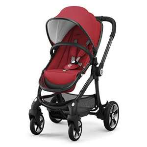 KIDDY – Poussette 4 roues evostar ruby red