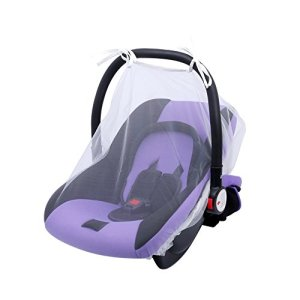 Ao Tuo Baby Car Cover Ultra Dense Mesh Baby Car Cover Anti-Moustique Respirant Cool Cryptage Soft Baby Car Cover