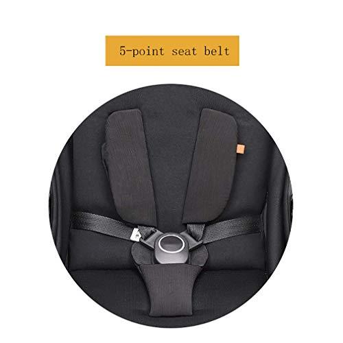 BAIF Poussette en Fibre de Carbone, Poussette Portable légère rotative 360