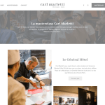 Cours de pâtisserie de Carl Marletti