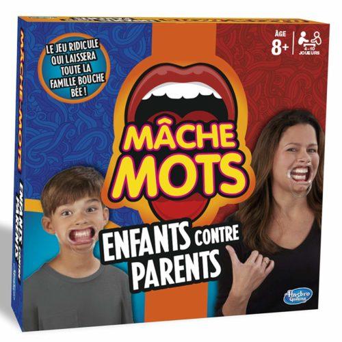 Mâche-Mots Enfants Contre Parents - boite