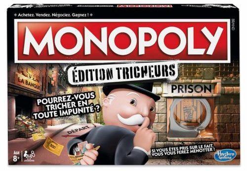 Monopoly tricheur - boite