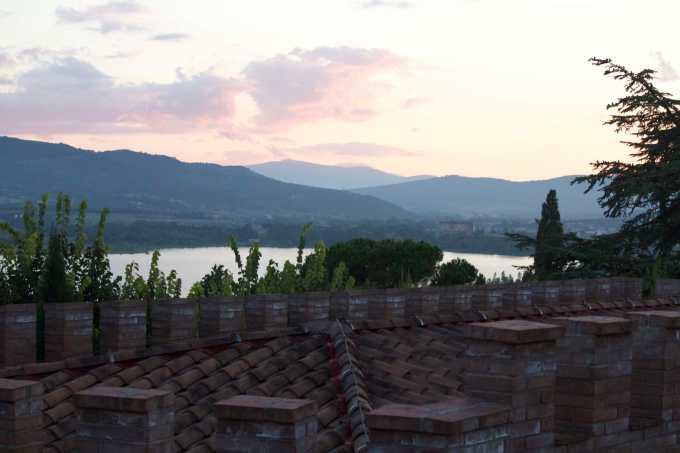 从BORGO DEI CONTI看出去的风景