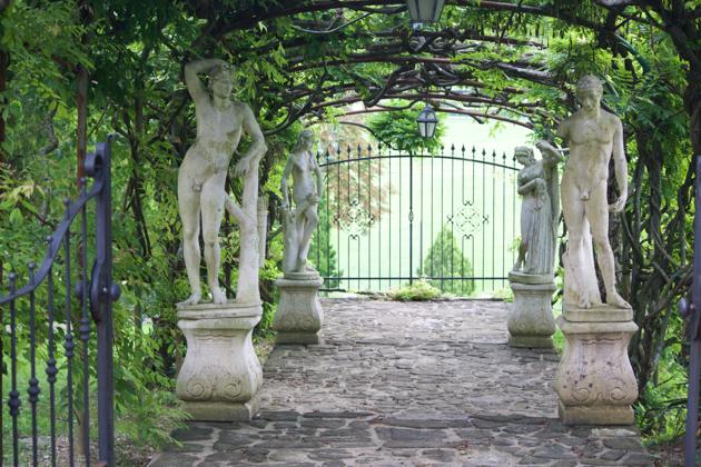 CASTELLO DI SPESSA的花园