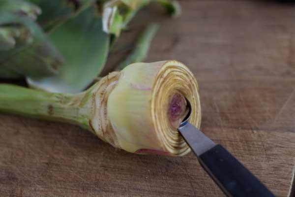 how to prepare artichokes-8