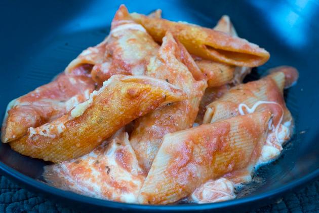 PASTA AL FORNO(意大利面配番茄和马苏里拉奶酪烘焙)