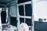 Kastenwagen mit armaflex isoliert