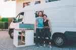 DIY Wohnmobil Kasenwagen Küche mit fliesen