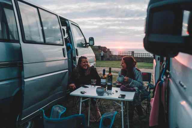 VW Bulli T4 Bus Interview Selina Abends