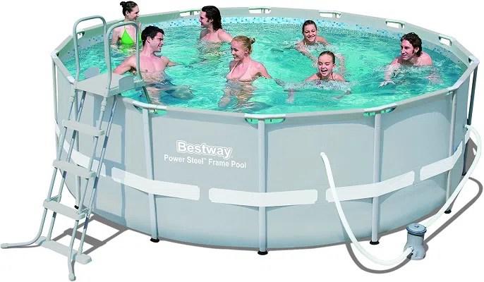 Bestway Pool Rattan Optik