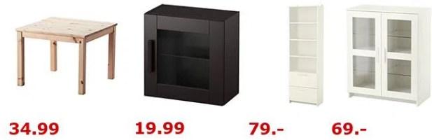 IKEA midsäsong Schlussverkauf   günstige Kleinmöbel und ...