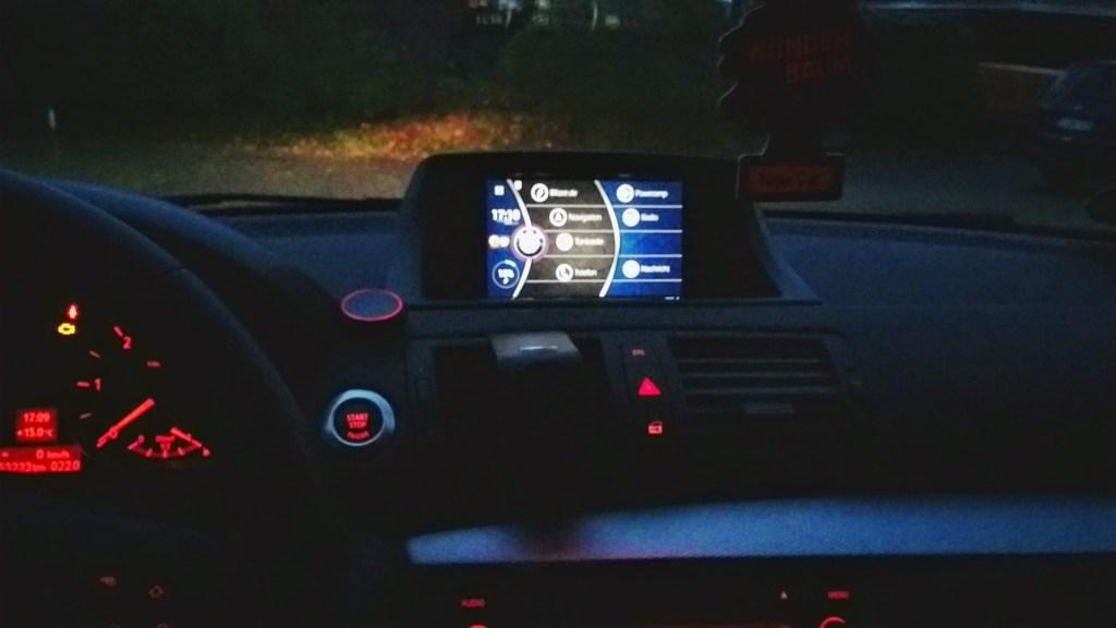 NEXUS 7 im BMW 1er