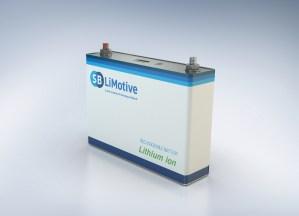 Akku Batterie Lithium-Ionen Akku Batterie SB LiMotive Samsung Bosch.jpg
