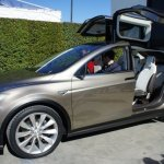 The electric car Tesla Model X by Tesla Motors. Source: Tesla Motors / Übergizsmo