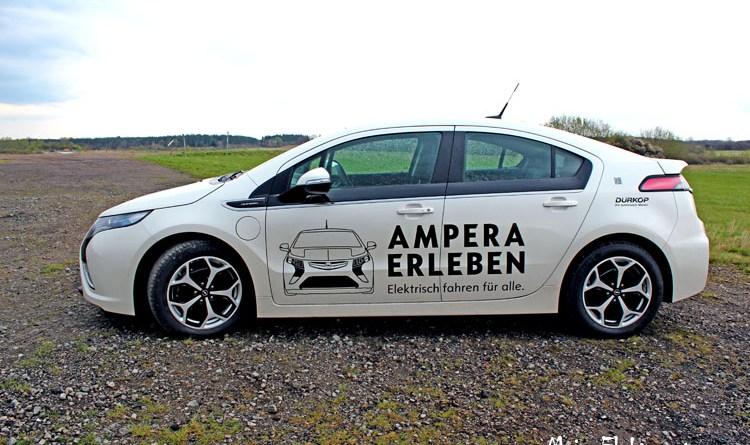 Plug-In Hybridauto Opel Ampera