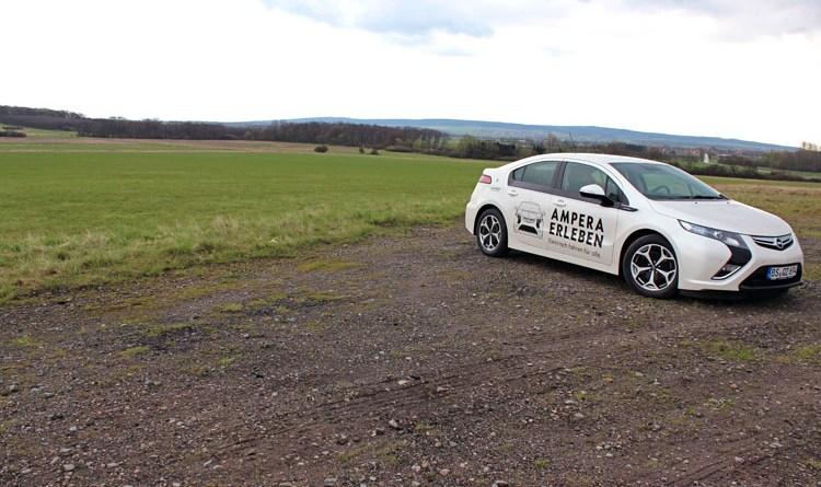 Der Opel Ampera ist ein typisches Plug-In Hybridauto.