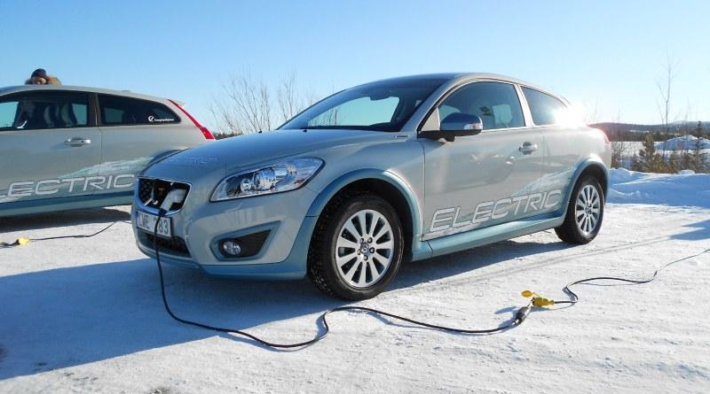 Dies ist das Elektroauto Volvo C30 Electric.