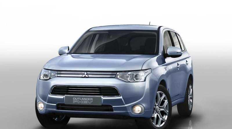 Dies ist das Plug-In Hybridauto Mitsubishi Outlander PHEV. Bildquelle: Mitsubishi