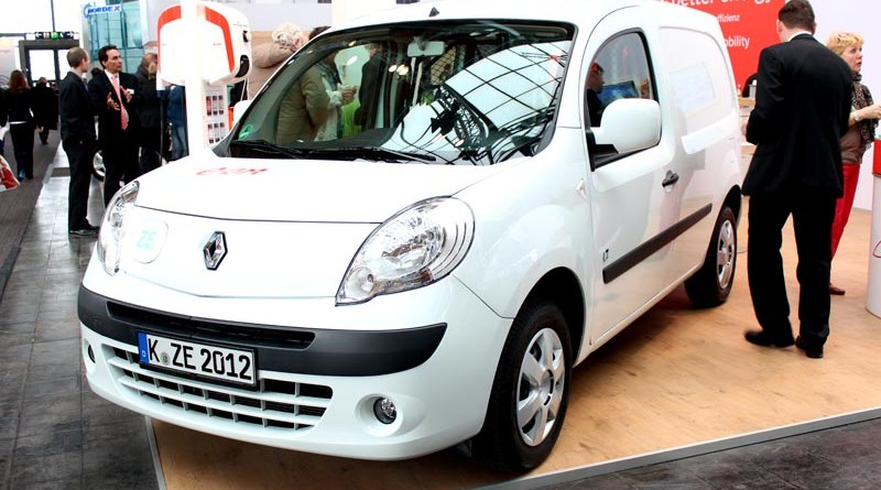 Elektroauto Renault Kangoo ZE