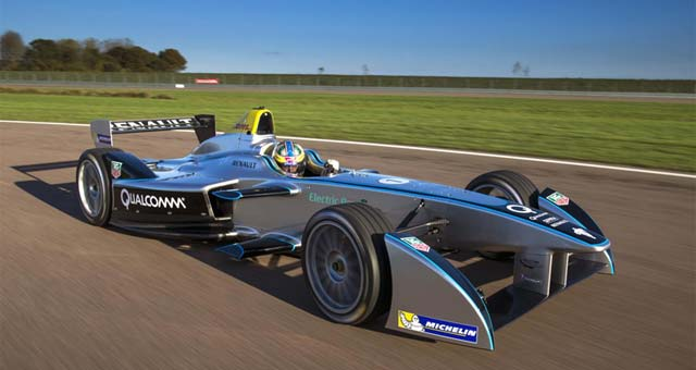 Elektroauto Spark-Renault SRT_01E. Bildquelle: Formula E Holdings