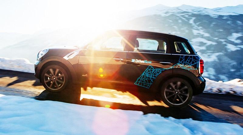 DriveNow nimmt heute in allen deutschen DriveNow-Städten den MINI Countryman in die Fahrzeugflotte auf. Foto: DriveNow/dpp-AutoReporter Anhang