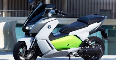 Der Elektroscooter BMW C evolution kommt im 2. Quartal in den Handel. Bildquelle: BMW/dpp-AutoReporter