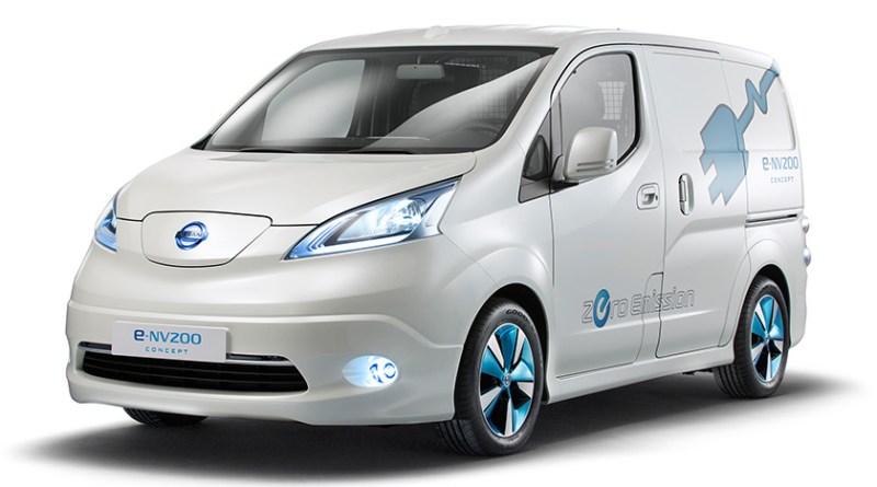 Elektroauto Nissan e-NV200. Bildquelle: Nissan