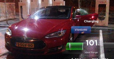 Das Elektroauto Tesla Model S. Bildquelle: http://www.thenewmotion.com