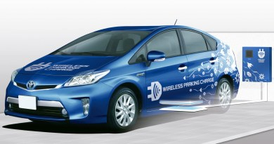 Toyota testet kabellose Ladetechnik für Elektrofahrzeuge. Foto: Toyota/dpp-AutoReporter Anhang
