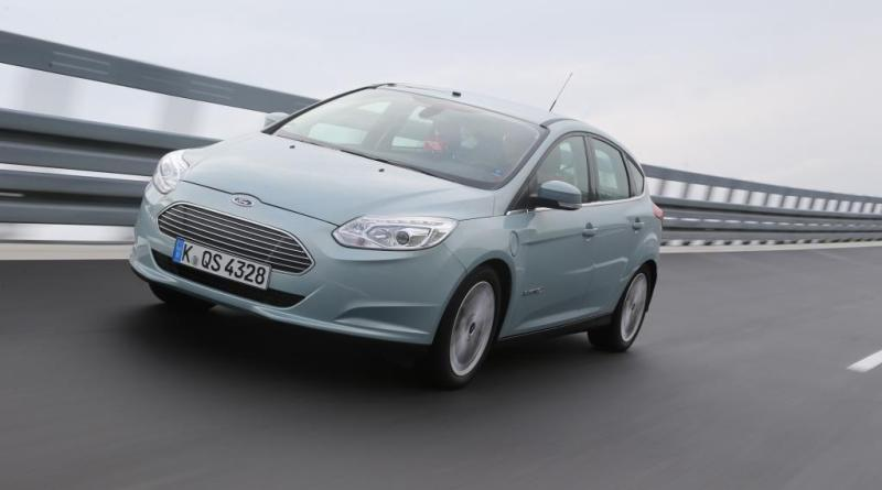 Symbolbild. Elektroauto Ford Focus Electric. Bildquelle: Ford