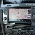 Das Navigations- und Infotainmentsystem des Elektroauto VW e-Golf