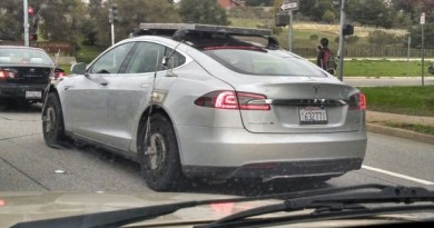 Elektroauto Tesla Model X Test-Esel – Via Reddit User Duck 97