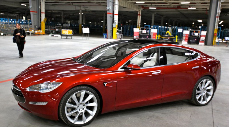 Elektroauto Tesla Model S. Bildquelle: FlickR Jurvetson (CC BY 2.0)