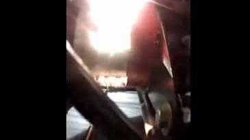 Die Kamera ist teilweise auf den Elektromotor des Elektroauto Lonestar EV Performance gerichtet. Bildquelle: DCPlasmaRacing / Youtube