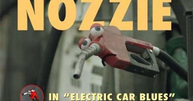 Elektroautos wie das Tesla Model S sorgen dafür, dass die Zapfpistole Nozzie einen harten Tag hat. Bildquelle: Ajar Pictures / Youtube