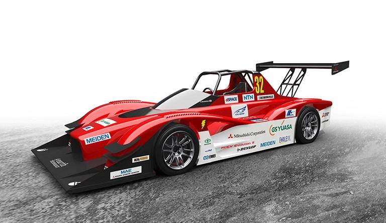 """Beim diesjährigen Pikes Peak Bergrennen sind 2 Exemplare des Elektroauto Mitsubishi """"MiEV Evolution III"""" am Start. Bildquelle: Mitsubsihi"""