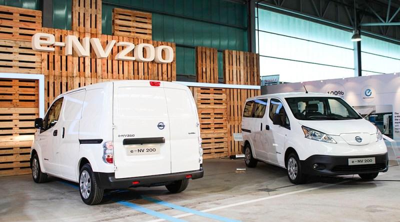 Das Elektroauto Nissan e-NV200 wird in Barcelona produziert.