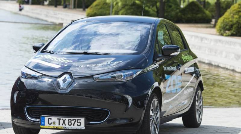 Das Elektroauto Renault Zoe verfügt über eine Reichweite von bis zu 210 Kilometern. Bildquelle: Renault