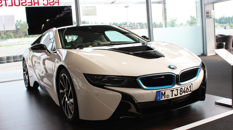 Plug-In Hybridauto BMW i8.