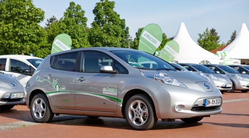 Das Elektroauto Nissan Leaf. Bildquelle: ehomeprojekt.de