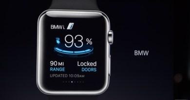 Das Elektroauto BMW i3 kann in Zukunft auch mit der Apple Watch gesteuert werden. Bildquelle: Apple /BMW