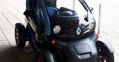Elektroauto Renault Twizy. Bildquelle: James