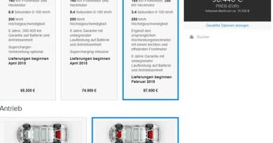 Elektroauto Tesla Model P85D kommt in Deutschland für 98.440 Euro auf den Markt. Bildquelle: Tesla Motors