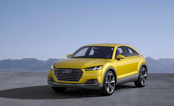 Plug-In Hybridauto Audi TT offroad concept. Bildquelle: Audi