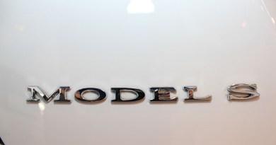 Elektroauto Tesla Model S Modellname