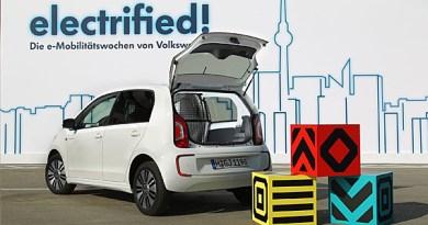 Elektroauto VW e-load up. Bildquelle: VW AG