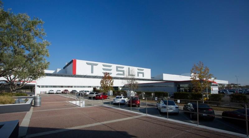 Dies ist die Fabrik von Tesla Motors in Fremont (USA). Bildquelle: Tesla Motors