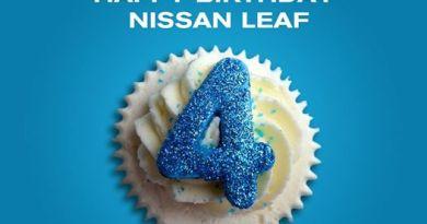 Elektroauto Nissan Leaf wird 4 Jahre alt. Bildquelle: Nissan Leaf
